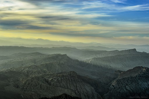 Pakistan, Sky, Mountain, Landscape, Scenery, Travel