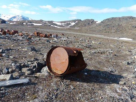 Spitsbergen, World War, Wetterstation Loneliness