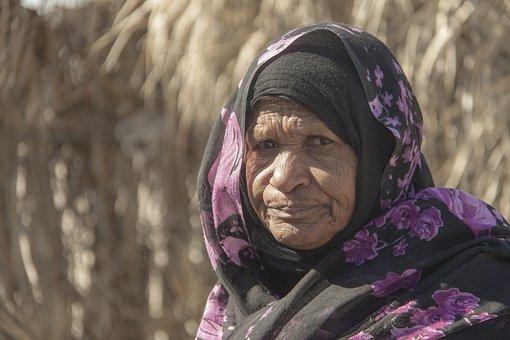 Elderly Woman, Baloch Woman, Iran, Balochistan, Iranian