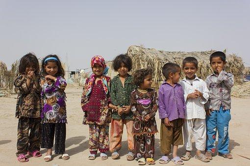 Children, Baloch, Happy, Group, Kids, Girls, Boys