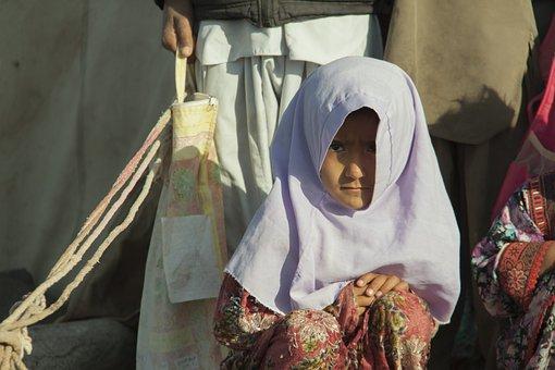 Baby, Girl, Portrait, Baloch People, Child, Shia