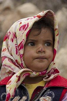 Baloch Girl, Child, Iran, Portrait