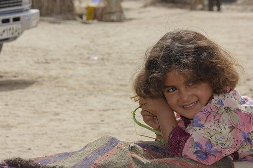 Child, Kid, Girl, Portrait, Baloch People, Smiling