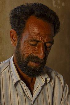 Baloch Man, Man, Iran, Portrait