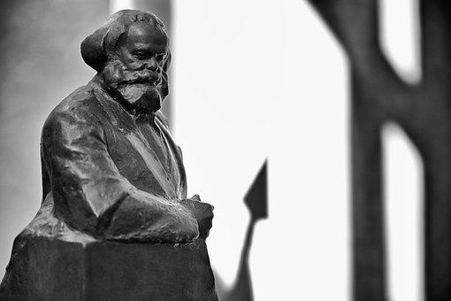 Karl Marx Statue, Sculpture, Landmark, Berlin