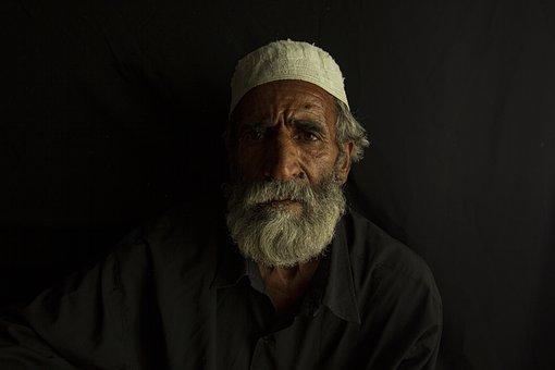 Elderly Man, Baloch Man, Iran, Portrait, Man