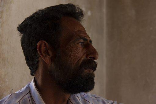 Man, Baloch, Portrait, Profile, Face, Life, Iranian