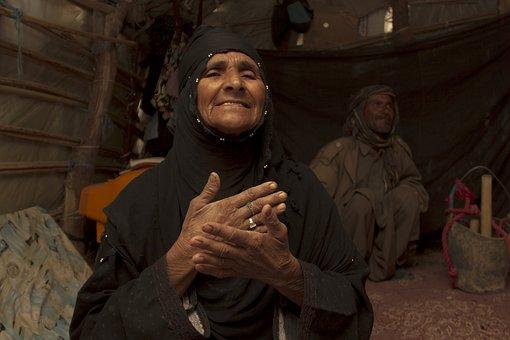 Woman, Baloch, Portrait, Culture, Tradition, Iranian