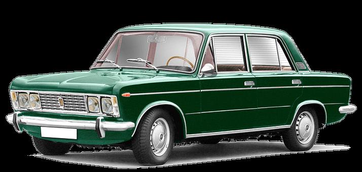Fiat, 125, 4-door Sedan