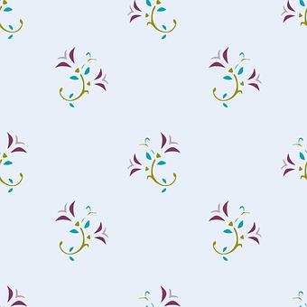 Floral, Pattern, Art, Design, Flower, Seamless