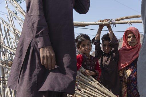 Children, Friends, Baloch, Kids, Girls, Boy, Outdoors