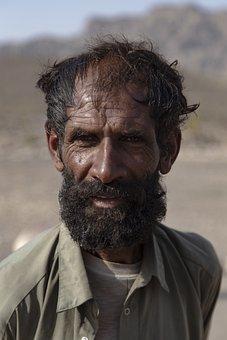 Man, Face, Portrait, Beard, Mustache, Facial Hair