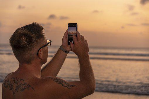 Man, Leisure, Photography, Vacation