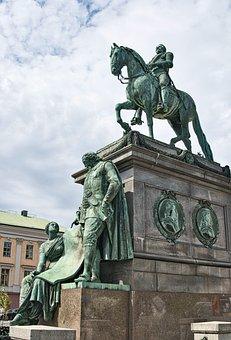Memorial, Sculpture, Art, Warrior