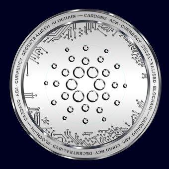 Cardano, Blockchain, Cryptocurrency, Ada, Silver