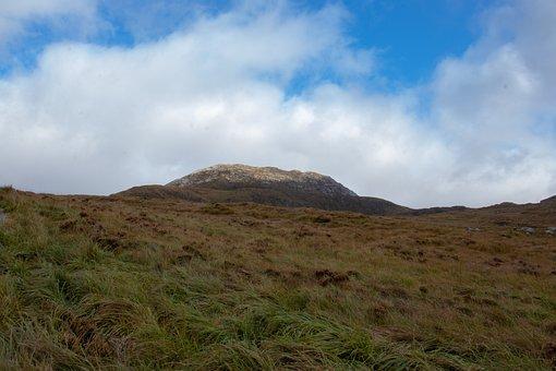 Mountain, Pasture, Nature, Summit, Landscape, Peak