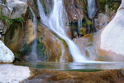 Waterfall, Stream, River, Cascade, Nature, Landscape