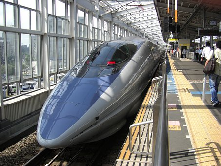 Bullet Train, Train, Nozomi, Japan, Train Station