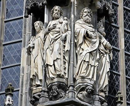 Aachen Cathedral, Dom, Church, Aachen, Detail, Close Up