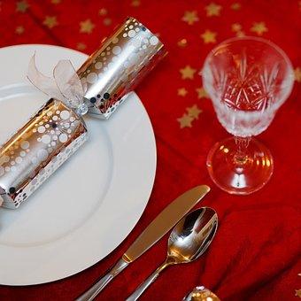 Celebration, Christmas, Cutlery, Decoration, Dine