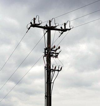 Strommast, Energy, Power Lines, Power Line