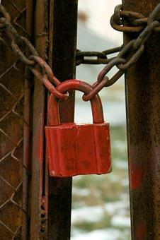Castle, Chain, Doors, Rust, Rusty, Guard, Metal, Dirty
