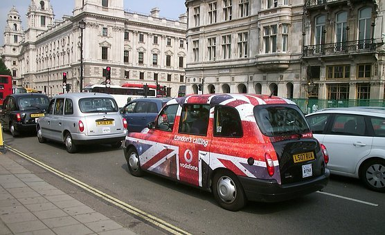 London, Taxi, Capital, England, United Kingdom