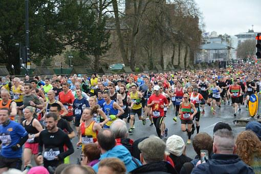 Marathon, Running, Marathon Runners, Jogger, Sport