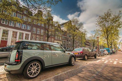 Amsterdam, Netherlands, Mini, Auto, Dutch, Travel
