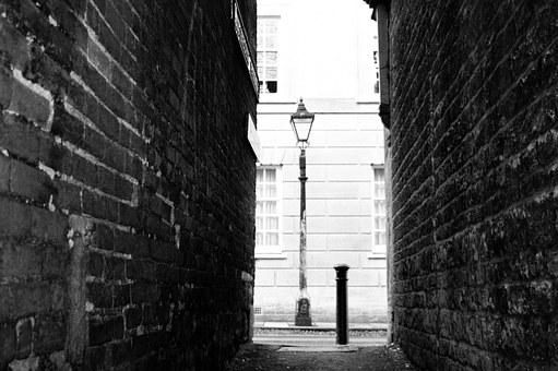 Alleyway, Lamp, Alley, Light, Narrow, Architecture