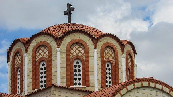 Cyprus, Nicosia, Church, Orthodox, Ayios Mamas, Dome