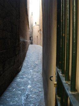 Secrets, Street, Lane, Hideout, Roads, City, Palma