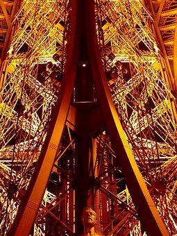 Paris, Eiffel Tower, Places Of Interest