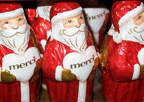 Santa Claus, Chocolate Man, Holkörper, Chocolate