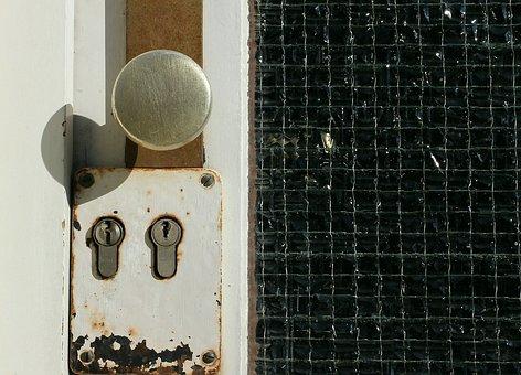 Door Lock, Locking System, Close, Security, Closed
