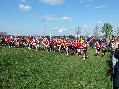 Jog, Start, Running Start, Competition, Sport