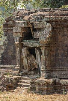 Angkor Thom, Angkor Wat, Cambodia, Temple, Asia, Angkor