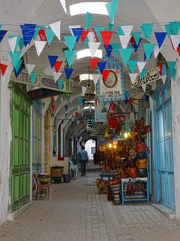 Souk, The Madina, Tunis, Tunisia