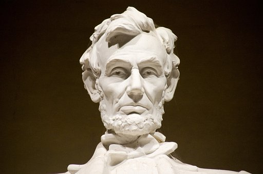 Abraham Lincoln Memorial, Abe, Abraham Lincoln, Man