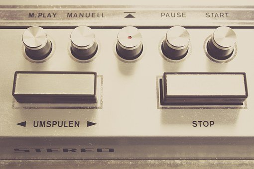 Tape, Device, Magnetband, Stereo, Recording, Analog