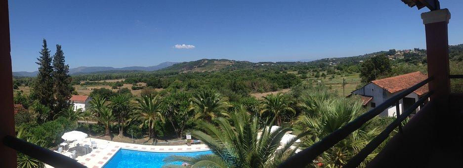 Corfu, Greece, Island, Blue, Summer, Greek, Vacation