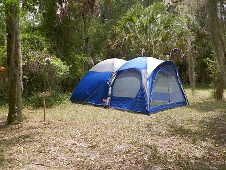 Camping, Tent, Camp, Summer, Forest, Nature, Vacation