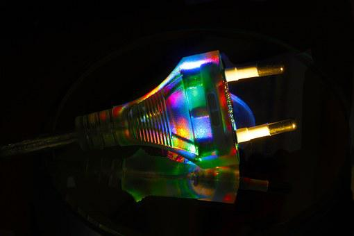 Plug, Color, Light, Current, R, Macro, Cable