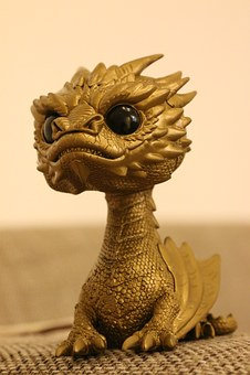 Smaug, Dragon, The Hobbit, Funko, Pop, Gold