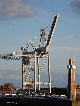 Hamburg, Harbour City, Landungsbrücken, Elbe, Landmark
