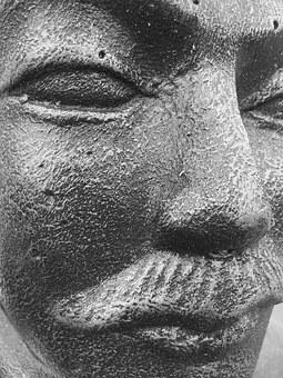 Warrior, Soldier, China, Terracotta, Face, History