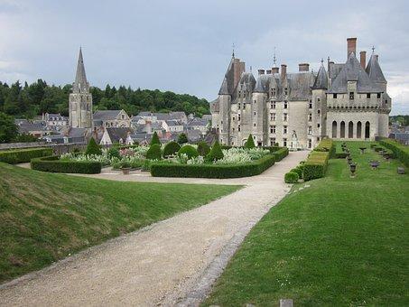 Château De Langeais, Medieval, Castle, Fortress