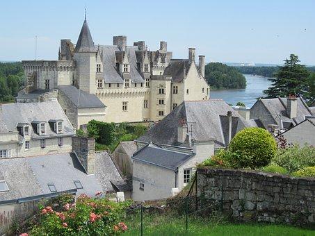 Montsoreau, Maine-et-loire, France