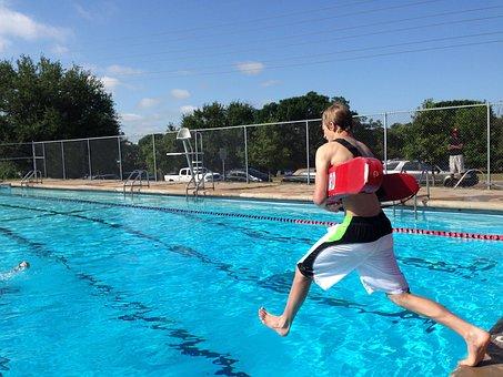 Lifeguard, Guard, Rescue, Emergency, Training, Pool
