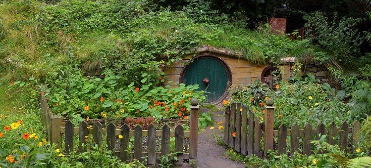 Hobbit, Cave, Hobbit House, Live, Garden